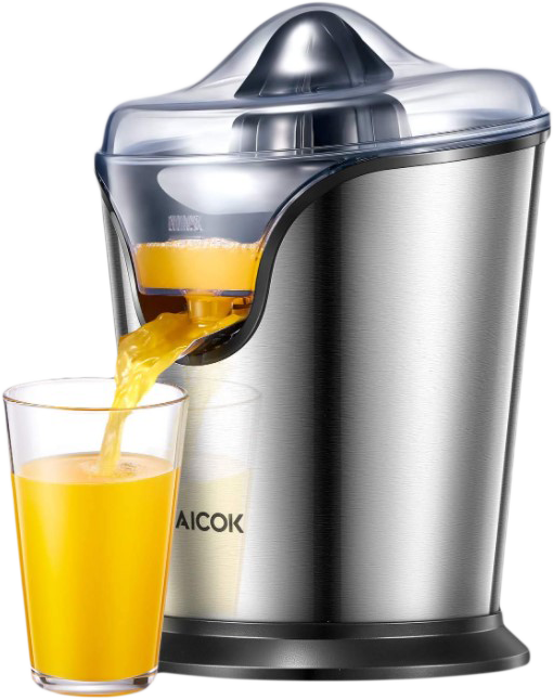 Aicok Electric Citrus Juicer Stainless Steel Orange Juicer Squeezer