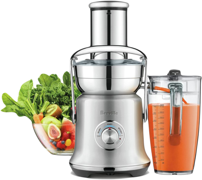 Breville BJE830BSS Juice Founatin Cold XL Centrifugal Juicer