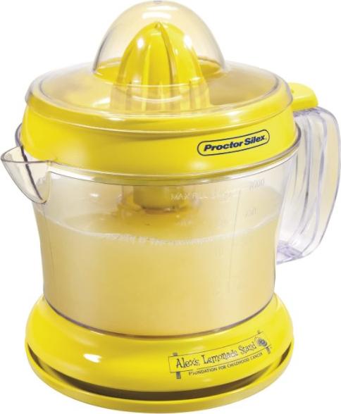 Proctor Silex Alex's Lemonade Stand Citrus Juicer Machine