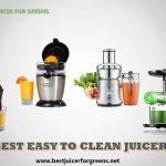 5 Best Easy to Clean Juicers 2021 - Top Picked Juicer Machines