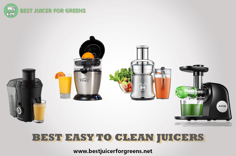 Best Easy to Clean Juicers